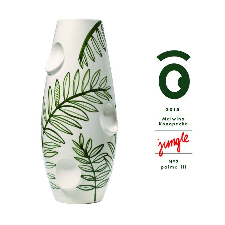 Malwina Konopacka - vase porcelaine OKO