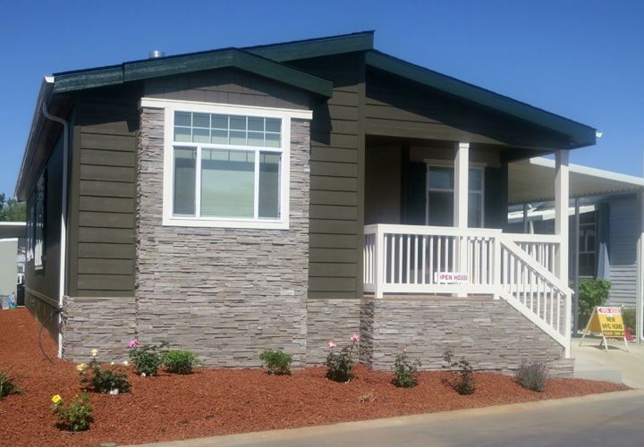 Mobile home exterior colors related post from Single wide mobile home exterior remodel
