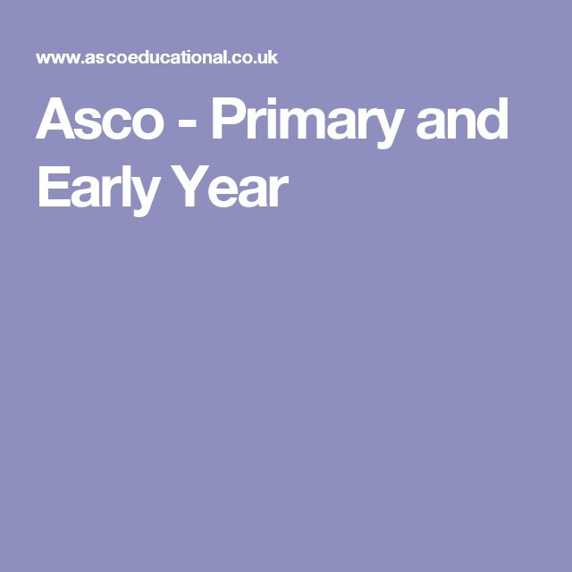 Asco - Primary and Early Year