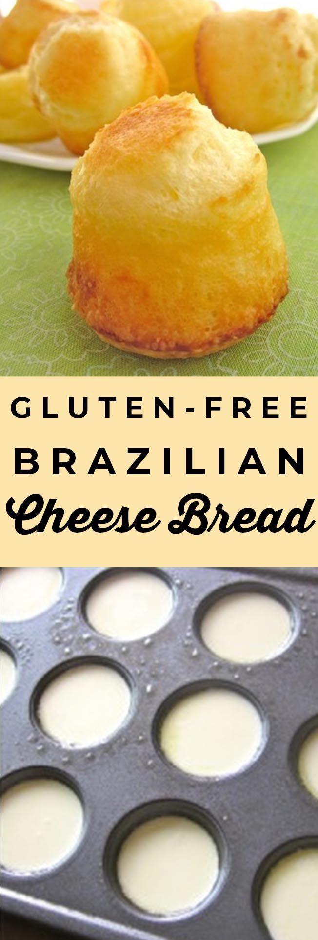Gluten-Free Brazilian Cheese Bread (Pao de Queijo) from The Food Charlatan