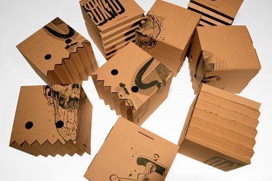 magic boxe. tshirt package.
