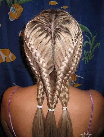 Remarkable Heart Braid Creative And Heart On Pinterest Hairstyles For Women Draintrainus