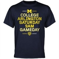 You know that the Wolverines have the greatest football in the nation - now the entire nation can learn what you've known for years! The crew from College GameDay will begin broadcasting on your college campus at the early hour of 9AM, giving Wolverines fanatics plenty of time to show off their outrageous team pride!