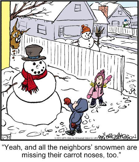 Carrot Nose Thief. Marmaduke On GoComics.com #humor #comics #dogs #