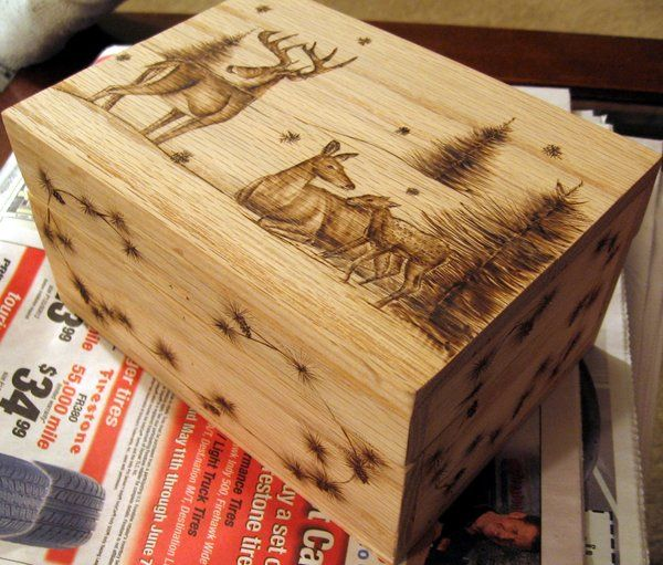 Deer Box by ~SpikedPyro on deviantART