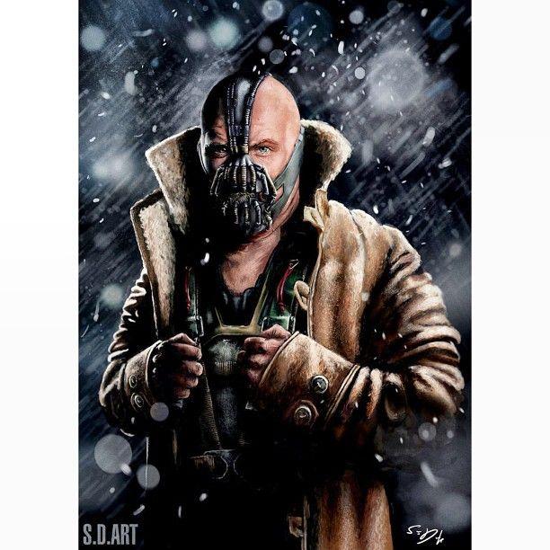 ™ DC Comics. batman el caballero de la noche asciende - Bane