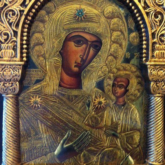Παναγία Προυσιώτισσα : Η Ιερά Εικόνα και η Ιστορία της !!!