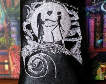 Custom glass pipe case. Nightmare before by RedNeckRagsCreations