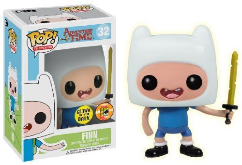 Funko POP Television Finn with Sword Adventure Time Vinyl Figure (SDCC Exclusive) @ niftywarehouse.com #NiftyWarehouse #Geek #Gifts #Collectibles #Entertainment #Merch