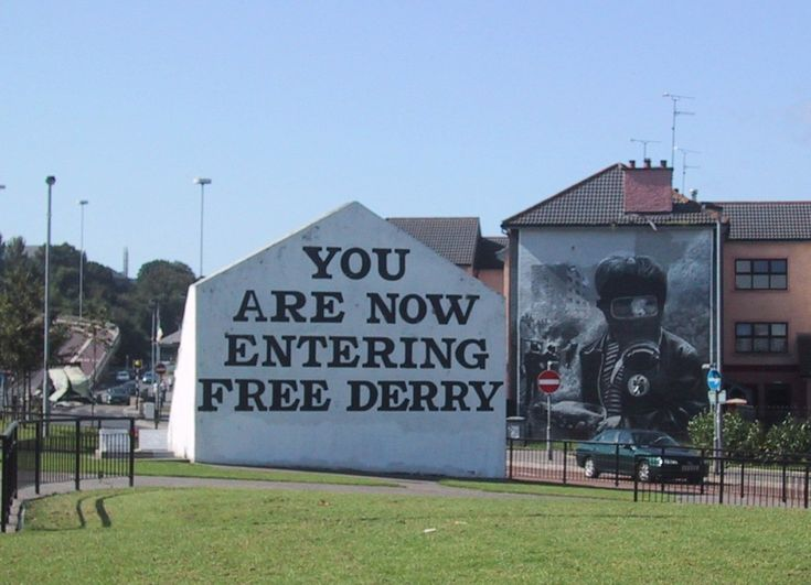 Derry Northern Ireland | You Are Now Entering Free Derry – Northern Ireland's Wall Murals