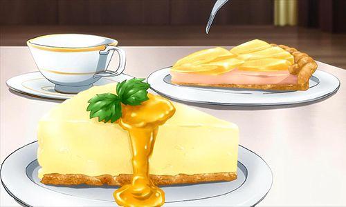 Cheesecake al limone e torta di mele (Infinite Stratos); Lemon Cheesecake and Apple pie