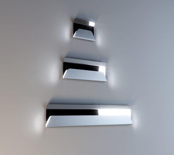 #ginza wall lamp, design by Marco Piva for #altreforme, #district collection #interior #home #decor #homedecor #furniture #aluminium #madeinitaly #bonusmobili