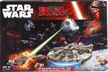 Hasbro sort une édition Star Wars de son célèbre jeu Risk.