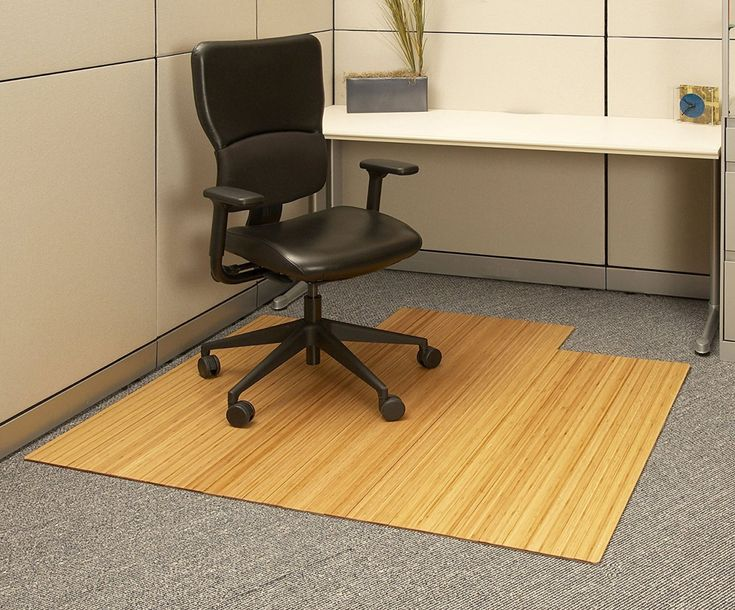 Bamboo Office Chair Mat - Modern Home Office Furniture Check more at http://invisifile.com/bamboo-office-chair-mat/