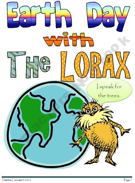 Earth Day with the Lorax