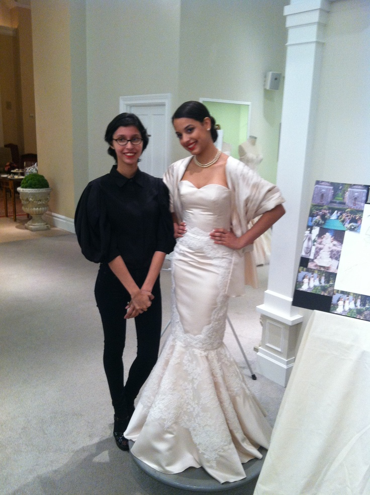 My model and I at Kleinfeld