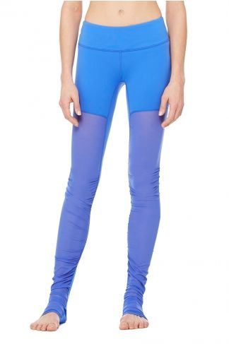 mesh goddess legging surf blue xxs