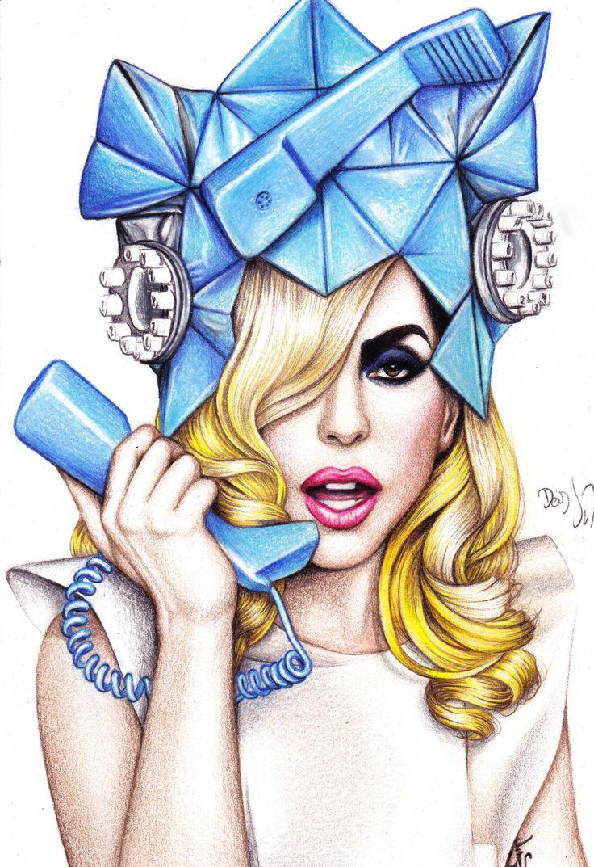 Lady GaGa by DendaReloaded.deviantart.com on @deviantART