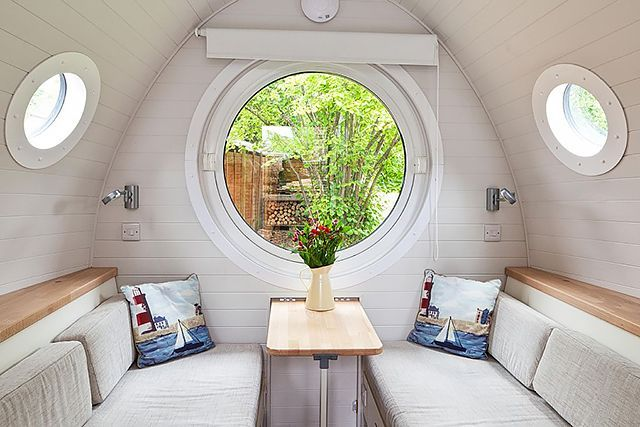 12 Tiny, Perfect Homes For The Cheap Getaway You Deserve #refinery29  http://www.refinery29.com/tiny-houses-for-rent#slide-5  Winchester, EnglandFrom the outside, it looks like a cross between a boat and Bilbo Baggins' house in the Shire. On the inside, it's a self-contained tiny home with two beds, a kitchenette, and an en suite bathroom — and it's positively lovely. Average price: </strong...