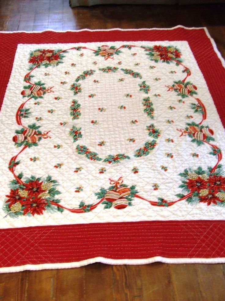how to make a quilted tablecloth