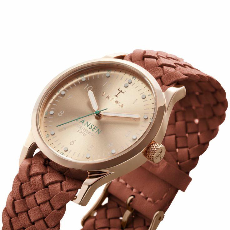 Kerstcadeau tips vrouwen: TRIWA Rose Lansen horloge | Bekijk alle aanbiedingen! | Gratis Verzending