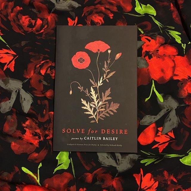 Caitlin Baileys #debut #poetry collection SOLVE FOR DESIRE is a finalist for this years Minnesota Book Awards! Publishers Weekly calls the book a feminist resuscitation... focusing on small moments of quiet grief lust and memory and fleshing out a story that is still disputed about the lives of siblings Grete and Georg Trakl. Head to our bio to read more.     #caitlinbailey #solvefordesire #mnbookawards #mnauthor #georgtrakl #gretetrakl #poems #poet #readwomen