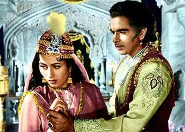 The gem of Indian featured film-Mughle azam in 1950s#India..