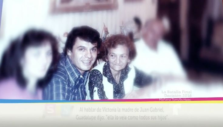Cuñada cercana a la familia revela como era la relación de Juan Gabriel con su Madre