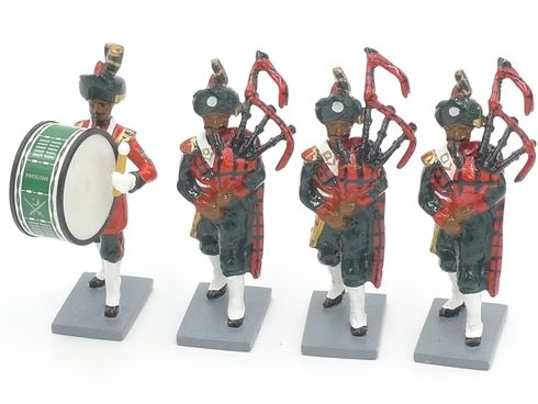 WBritain 40305 Pakistan Army Pipes & Drums Set 2 Collectors Club