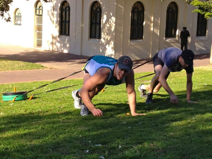 With only 3 more weeks of the Tough Mudder training program left we increased the intensity at this weeks training session.    For the strength portion of the workout we did a 30 minutes conditioning using medballs, TRX's, olympic rings, sledges, sandbags, equaliser bars, barbells and dumbells…. followed by a 12 minute high intensity bodyweight circuit.    Then ran to Tamarama hitting all the hills and stairs along the way before taking a swim at Tama beach and then heading back to Bondi.