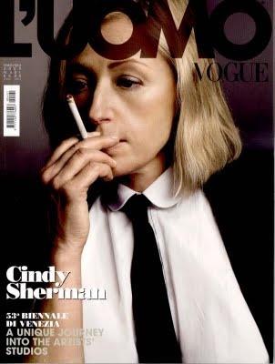 Cindy Sherman - L'Uomo Vogue