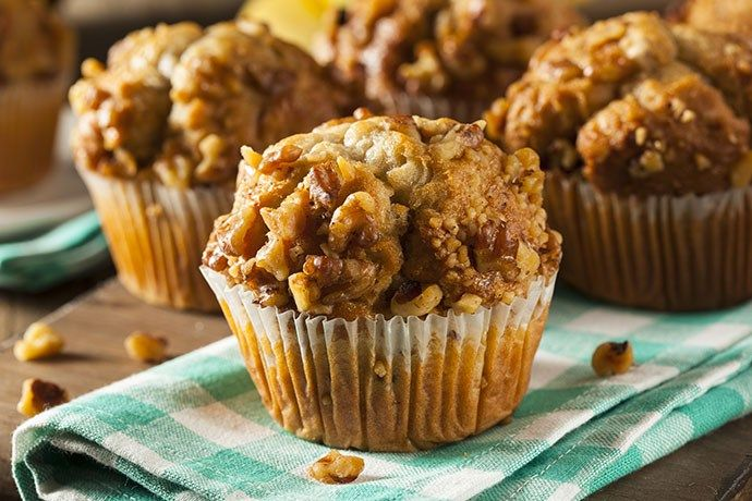 Baking muffins is one of my weekly activities. They are a perfect grab-and-go snack — meal — or brown bag addition. Healthy, filling… with a little sweetness perfect for ha…