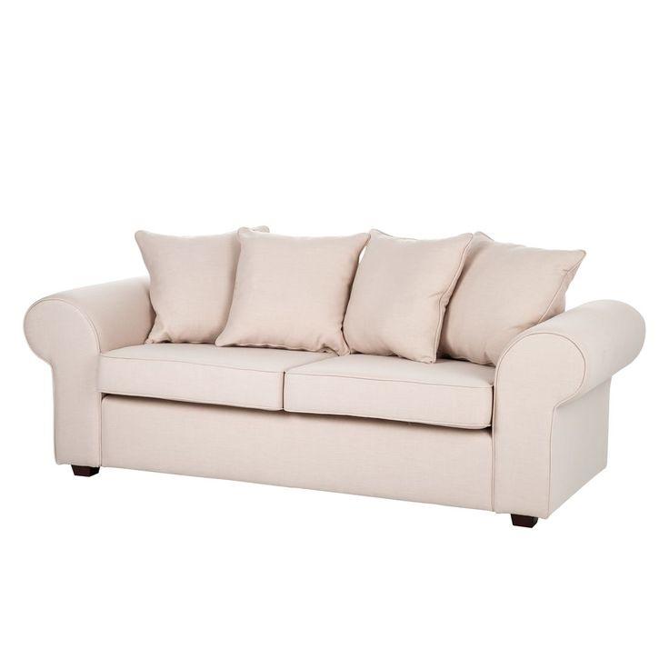 Sofa Colmar (3 Sitzer) Webstoff   Beige, Maison Belfort Jetzt Bestellen  Unter: Https://moebel.ladendirekt.de/wohnzimmer/sofas/2 Und 3 Sitzer Sofas/?uidu003d  ...