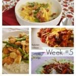 What's for Dinner} Meal Plan #5