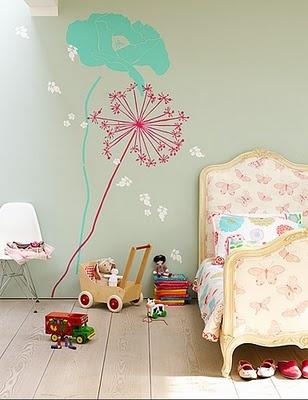 Kinderkamer pastel kleuren