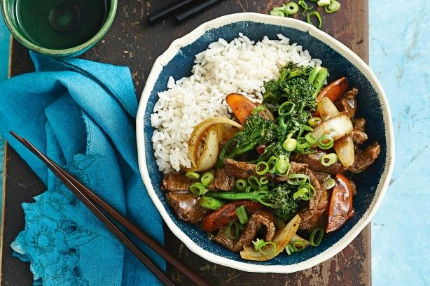 Try this Mongolian lamb stir-fry for a simple, tasty weeknight meal.