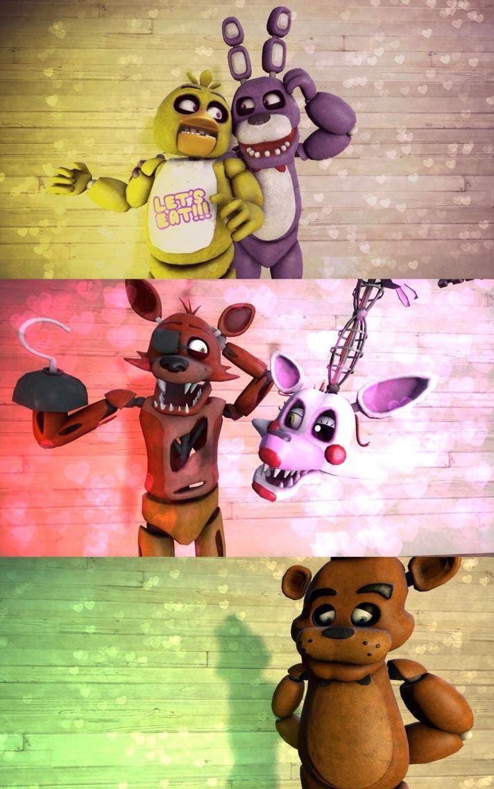 33 best foxy x mangle images on Pinterest | Night, Freddy ...
