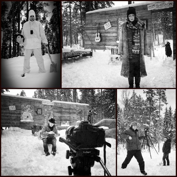 """Production phase for the single """"Illusions"""".  #mattiaslies #musicvideo  @Pasi Kämäräinen"""