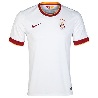 Galatasaray 2014/2015 Away Shirt (White). Available from Kitbag.com