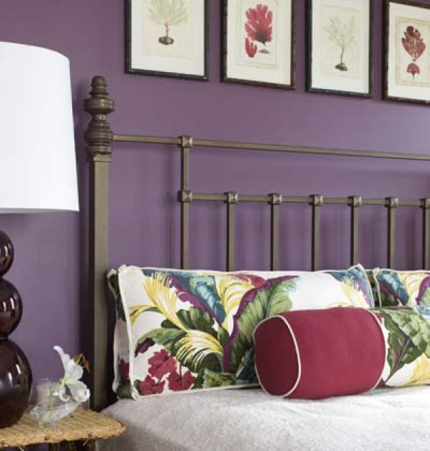 benjamin moore kalamata is one of the best dark purple paint colours for your home. Good for a bedroom or feature or accent wall
