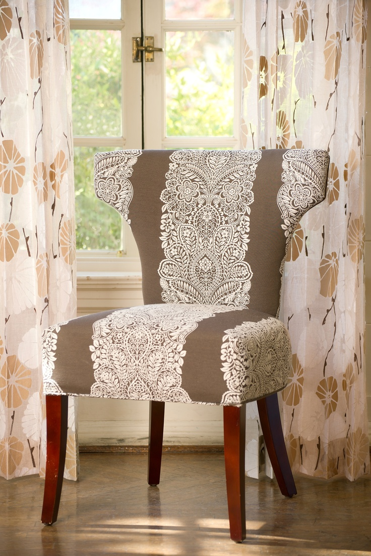 Vervain Fabrics Of Chantilly In Hazelnut Are Examples Of Feminine Touches  For Any Space.