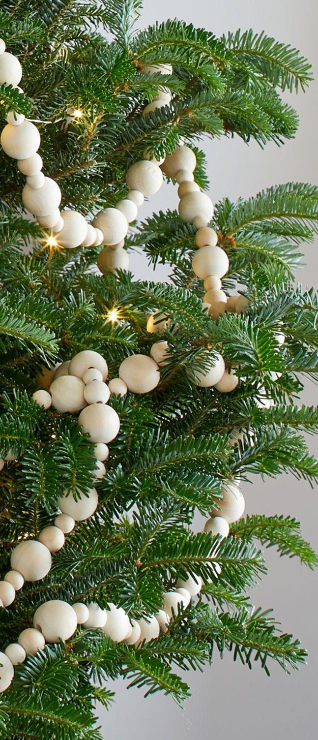 Scandinavian Christmas Ornaments And Holiday Decor Scandinavian Christmas Ornaments Wood Bead Garland Scandinavian Christmas