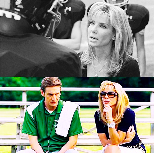 """""""Because, as every housewife knows, the first check you write is for the mortgage, but the second is for the insurance. The left tackle's job is to protect the quarterback from what he can't see coming. To protect his blind side. """" LOVE this movie & Leigh Ann Tuohy"""