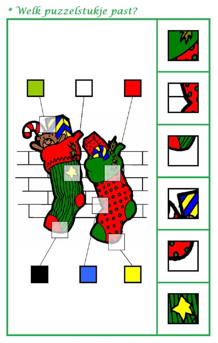 * Welk puzzelstukje past? 1-2
