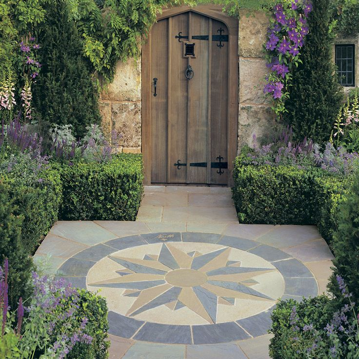 29 Best Stone Compass Front Garden Images On Pinterest