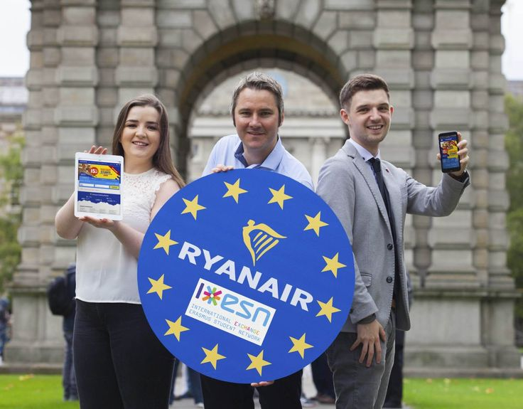 New Booking Platform for Erasmus Students Announced by Ryanair.
