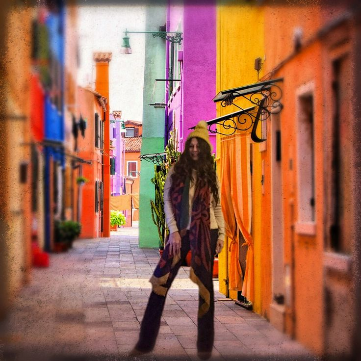 colorful street at photoshop :)