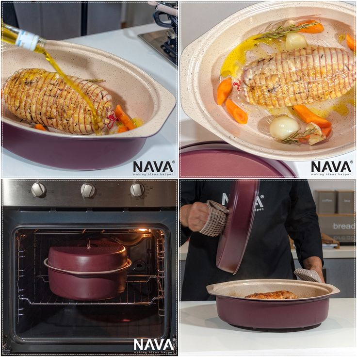 With the roaster from the Eco Friendly collection you can cook easy and healthy! Discover NAVA's cookware and organize your kitchen!  More information and related products can be found here → http://bit.ly/2mz0jWV  You can find related video  here → http://bit.ly/2iG3nMo   #nava #navaideas #kitchen #cookware #ecofriendly #ceramicroaster #roaster