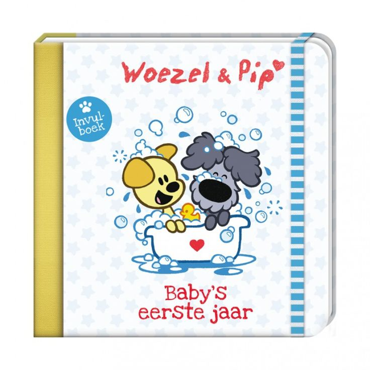 Woezel & Pip Boek Baby's Eerste Jaar