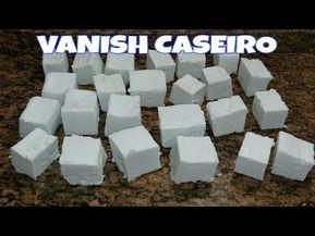 VANISH CASEIRO EM BARRA. SUPER CLAREADOR! MINHA NOVA RECEITA!!! - YouTube